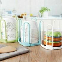 多彩廚房碗筷收納多功能瀝水架 可拆卸碗筷置物架 碗盤收納籃 瀝水籃