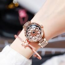 2020年新款 網紅同款 防潑水氣質百搭手錶(贈六芒星手鐲)母親節