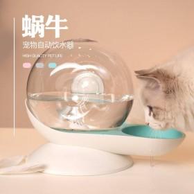 泡泡蝸牛 貓咪 狗狗 飲水機