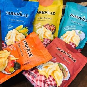 泰國限定~超好吃最健康!  真的跟洋芋片 鹹蛋魚皮 鹹蛋海苔一樣好吃 Farmville